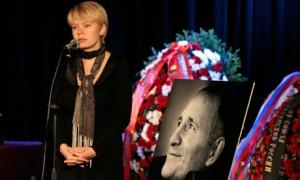 Mikhail Beketov funeral