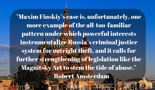 _Maxim Finskiy's case is, unfortunately,(1)