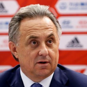 Russian Sports Minister Mutko attends a news conference in Moscow